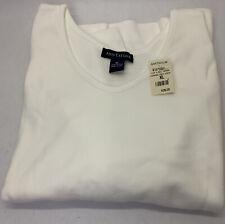 ANN TAYLOR Long Sleeve T-Shirt Top XL Extra large V-neck. 100% cotton.