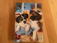 Picnic Pups, 550 Piece Jigsaw Puzzle, New in Box. 1996.