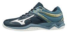 Mizuno Thunder Blade 2 azul oscuro/oro Voleibol Squash Interior Tribunal Zapatillas
