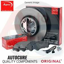 COMPATIBLE WITH VOLKSWAGEN VW GOLF 2.0 GTD MK7 FRONT DISC AND PADS APEC
