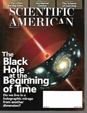 SCIENTIFIC AMERICAN Magazine - August 2014 - The Black Hole at Beginning of Time