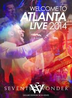 SEVENTH WONDER - WELCOME TO ATLANTA LIVE 2014 (DELUXE EDITION)  4 CD+DVD NEU