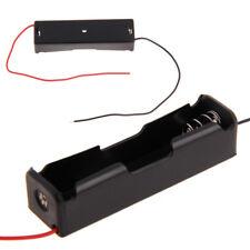 2Pcs Plastic Storage Case Holder Box Clip DIY For 2x 3.7V 18650 Battery Wired