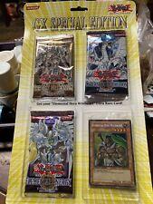 YUGIOH GX SPECIAL EDITION BLISTER Packs + RARE ELEMENTAL HERO WILDHEART Card