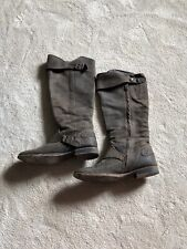 All Saints Tall Suede Brown Boots Size 41