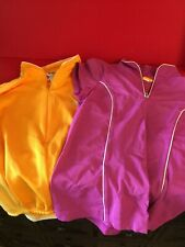 Hot Pink Lucy XS & Be Seen Yellow Pearl Izumi S Women's Bike Jersey Shirts F4