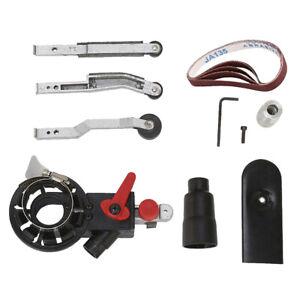 Sander Sanding Belt Adapter Convert M10 For 4'' Electric Angle Grinder Tools