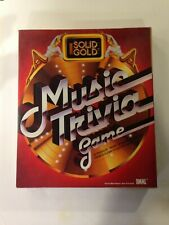 Solid Gold Music Trivia game 1984 Ideal Board Game, pre-owned