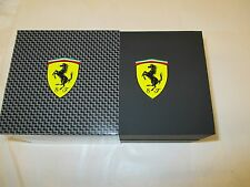 NEW -  FERRARI BRAND WATCH CASE - BLACK - $20.00 WITH FREE SHIPPING