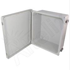 Altelix 14x12x6 Fiberglass NEMA Box 4X Weatherproof Outdoor Equipment Enclosure