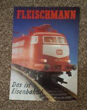 Fleischmann 1989 Trade Catalogue