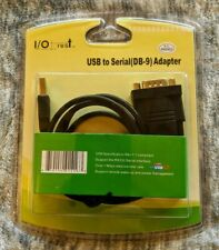 SYBA / IOCREST USB to Serial DB9 Port RS232 3ft Adapter Cable SY-ADA15006 SEALED