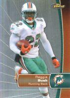 2012 Topps Finest Football Refractor #62 Reggie Bush Miami Dolphins