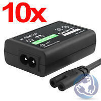 LOT 10X Sony PS Vita USB Data Sync Cable AC Adapter Home Power Supply Charger