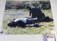 "NORMAN REEDUS ""DARYL DIXON"" SIGNED 16X20 METALLIC PHOTO THE WALKING DEAD JSA 546"