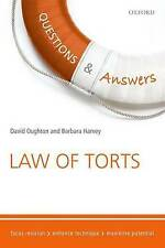 Questions & Answers Law of Torts Law Revision and Study Guide 8/e (Law Questions