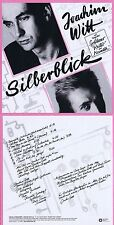 "Joachim Witt ""Silberblick"" 1980! Goldener Reiter! Digital remastered! Neue CD"