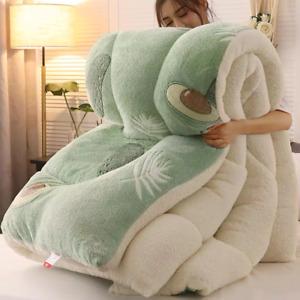 Super Warm Lamb Winter Blanket 5kg Double-Sided Velvet Quilt Comforter Duvet