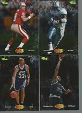 1995 Images Four Sport Player of the Year Complete Set POY1 - POY4