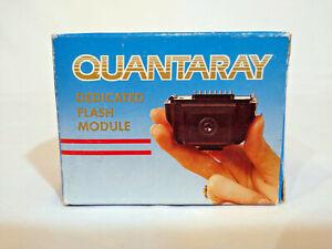 Quantaray QDA-P Shoe Mount Flash module (Manual Focus) for Pentax - BRAND NEW