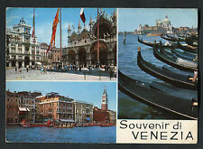 Posted C1970s Multiviews of Venice, Italy