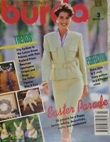 Burda Moden Style Magazine Complete Patterns 3/93