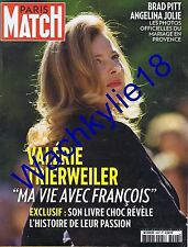Paris Match 3407 04/09/2014 Tierweiler mariage Brad Pitt Angelina Jolie Miraval