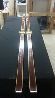Vintage Norge-Ski 210cm Cross Country Skis W/ Front 3 Pin Bindings