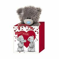 "Me to You 5"" Plush Bear in Gift Bag - Tatty Teddy Bear"