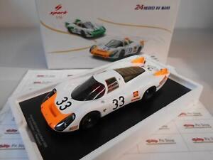 SPA18S518 by SPARKMODEL PORSCHE 908 24H LE MANS 1968 1/18