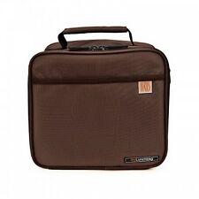 INSULATED LUNCH BAG BROWN Tote-Food-Separator-Food-Container ~ IRIS CLASSIC