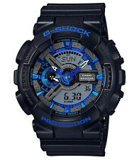 Casio G-Shock * GA110CB-1A Anadigi Cool Blue & Black Ivanandsophia COD PayPal