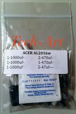 ACER-AL2016w - REPAIR KIT - Capacitors - NEW