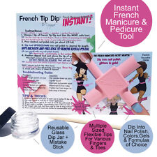 French Tip Dip Instant French Manicure Tool Use Any Nail Polish Or Gel Formulas