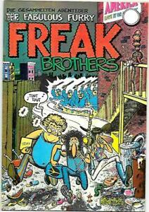 Freak Brothers #1 Gilbert Shelton 7th printing (in German) Rip Off Press 1972 NM