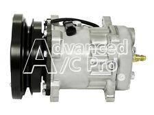 New A/C Compressor Replaces: Cartepillar 3E3658 SD7H15SHD 4608 138mm 1A 12V EAR