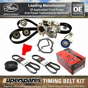 Gates Timing Belt Kit for Mitsubishi Magna TE TF TH TJ 3.0L 140KW 6G72 96 - 03