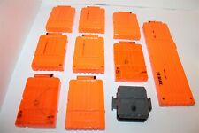 Nerf N-Strike Elite Ammo Clips 18 & 6 Clips In Good Condition