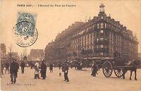 CPA 75 PARIS XIXe L'AVENUE DU PONT DE FLANDRE