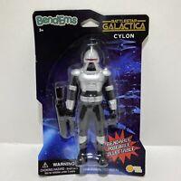 "Battlestar Galactica Classic CYLON 6"" Figure SEALED Bend'Ems 2019"