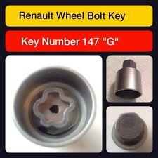 d'ORIGINE RENAULT écrou verrouillage ROUE / Clé 147 g