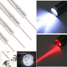 New Listing4Pcs 650nm Red Laser Pointer Pen Portable Mini Aa Led Flashlight Pet Cat Dog Toy