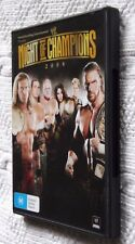 WWE - Night Of Champions 2008 (DVD, 2008) REGION-4, LIKE NEW, FREE POST AUS-WIDE