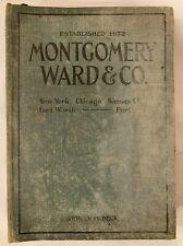 1920 Montgomery Ward Catalog #92