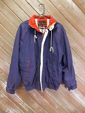 Abercrombie & Fitch Jacket Coat Lined Women's Full Zip Blue Size Medium