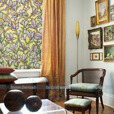 1.5m Long Orchid Stained Glass Decorative Window Privacy Film Static Cling Film