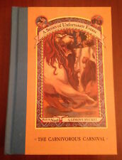 SIGNED 1st/1st Lemony Snicket THE CARNIVOROUS CARNIVAL #9 of Unfortunate Events