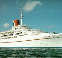TSS Festivale the Fun Ship Carnival Cruise Lines passenger Vintage Postcard