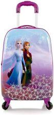 Disney Frozen II Anna Elsa Hardside Tween Spinner Luggage for Kids - 20 Inch