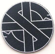 Crass Logo Punk Symbol Embroidered Patch